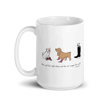 Conquer The World- Pet Mug