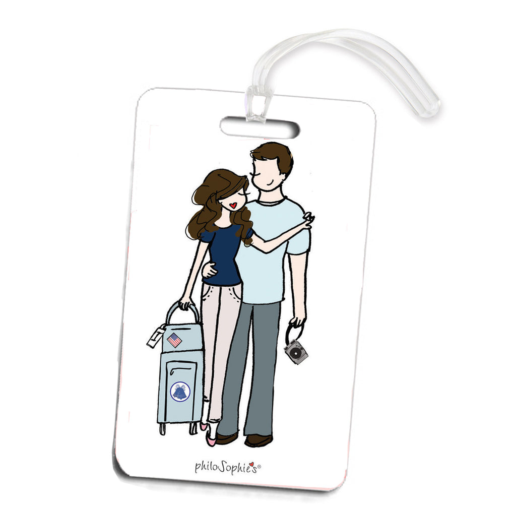 Couple Traveling Luggage Tag - philoSophie's®