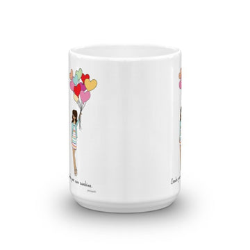 Create your own sunshine! personalized mug
