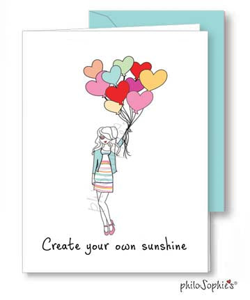Create Your Own Sunshine - Greeting Card