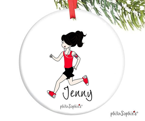 Cross Country Runner Ornament - personalized philoSophie's - philoSophie's®
