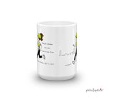 Boston Marathon - Strength in Numbers/City Skyline - personalized mug