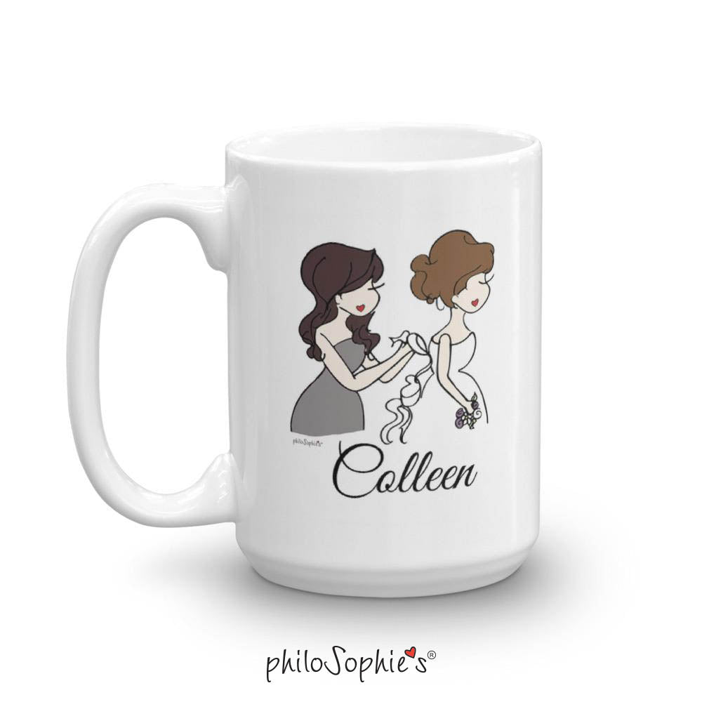 Personalized Bridal Party Ceramic Mug - philoSophie's®
