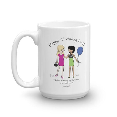 Happy Birthday Friendship Personalized Mug