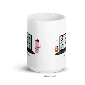 Zoom Dance Ceramic Mug