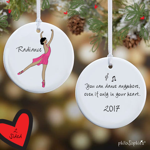 Personalized Ballerina Ornament - philoSophie's®