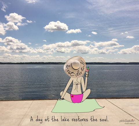 A Day at the Lake - Wall Art - philoSophie's®
