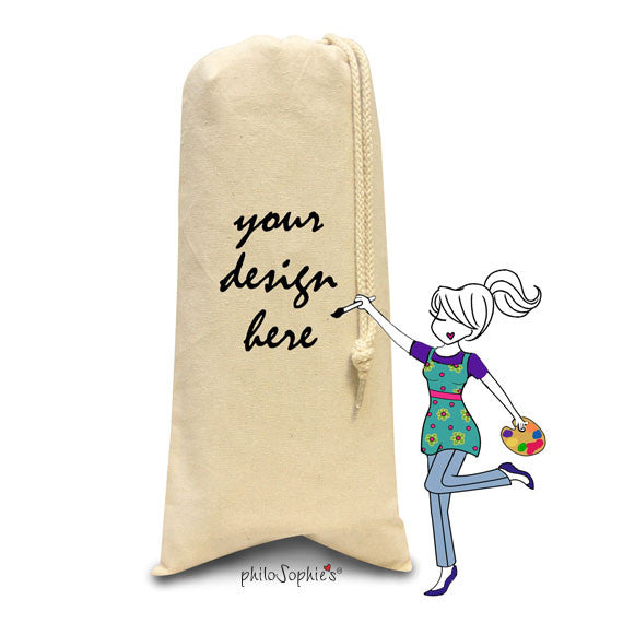 Design your own wine tote - philoSophie's®