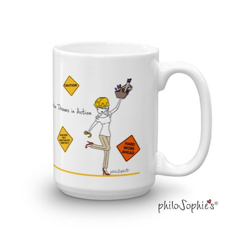 Caution: Dreams in Action mug - philoSophie's®