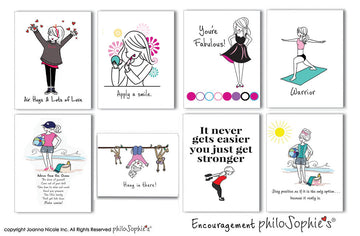 Encouragement philoSophie's Boxed Notecard Set