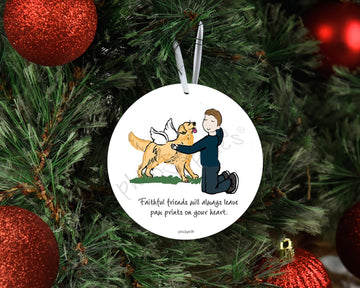Pet Remembrance -  Special Personalized Ornament