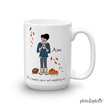 Fall is.... pumpkin spice! Personalized Mug