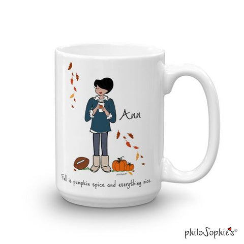 Fall is.... pumpkin spice! Personalized Mug - philoSophie's®