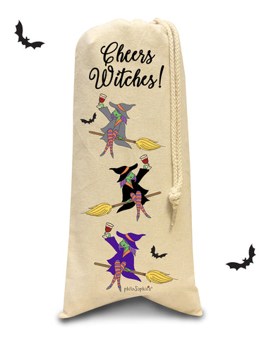 Cheer Witches! Wine Tote