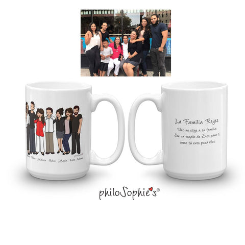 Custom Celebration Mug - Friends, Family, Fun! - philoSophie's®