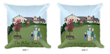 Truly Unique Family Illustration/Home  Pillow