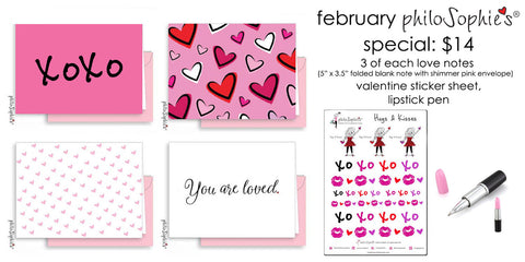 February Special Note Set