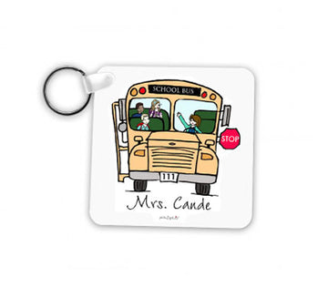 Bus Driver Keychain - Female
