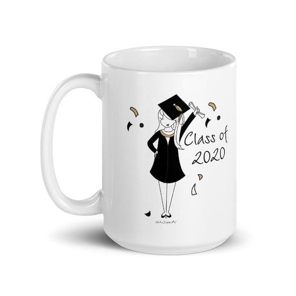 Class of 2020 Female Grad philoSophie's Mug