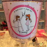 Bridal Party - Final Toast to Single Life Wine Tumbler - philoSophie's®