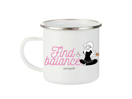 philoSophie's Find Balance Coffee & Cookies Camp Cup - philoSophie's®