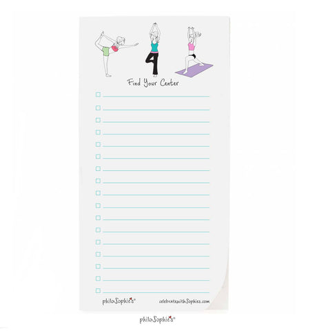Find Your Center Notepad - philoSophie's®