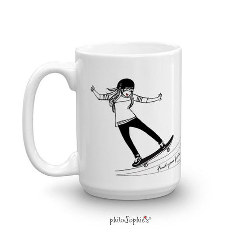 Find your footing - Mug
