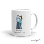 Happy 1st Father's Day Mug - philoSophie's®