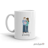 Father's Day Mug - Happy 1st Father's Day - philoSophie's®