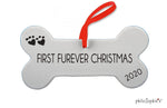 First Furever Christmas - Dog's First Christmas, 2020 Ornament
