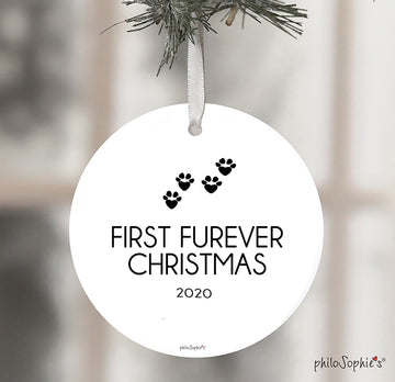 First Furever Christmas - Pet's First Christmas, 2020 Ornament