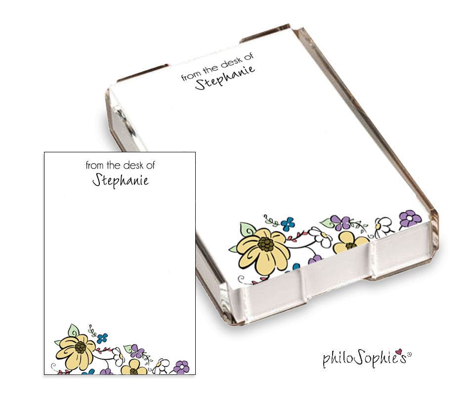 Flower Garden Quick Note - philoSophie's®