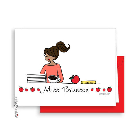 Teacher Note Cards - philoSophie's®