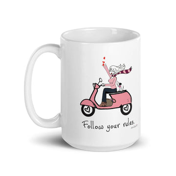 Follow Your  Rules Mug