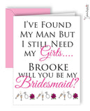 Will you be my bridesmaid? Greeting Card - philoSophie's®