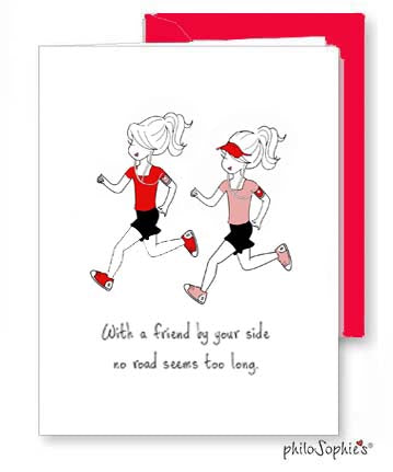 Friend by your side- Galentine Greeting Card - philoSophie's®