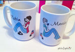 Phone Call Away Friend Mug Pair - philoSophie's®