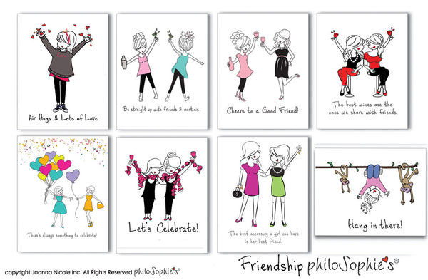 Friendship philoSophie's Boxed Notecard Set