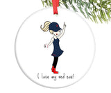 #1 Fan Team Ornament personalized - philoSophie's®