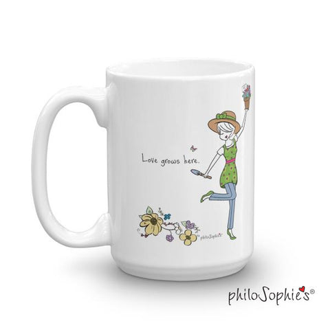 Grandma's Garden - Love Grows Here Mug - philoSophie's®