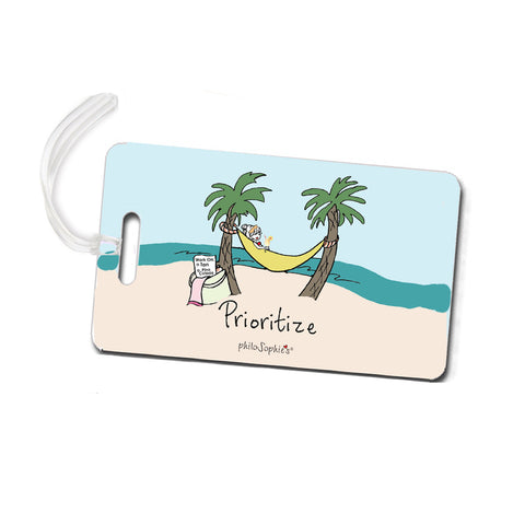 Prioritize - Beach Luggage Tags - philoSophie's®