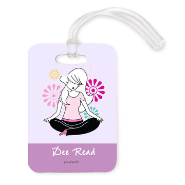 Yoga Luggage Tags