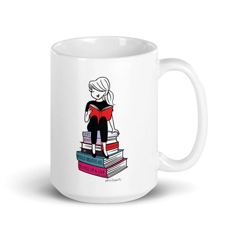 '...Fill up & Live!'  February 2020- Charitable Limited Edition philoSophie's Mug