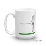 Keep Your Game on Course Personalized Mug - philoSophie's®