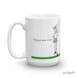 Keep your game on par - mug