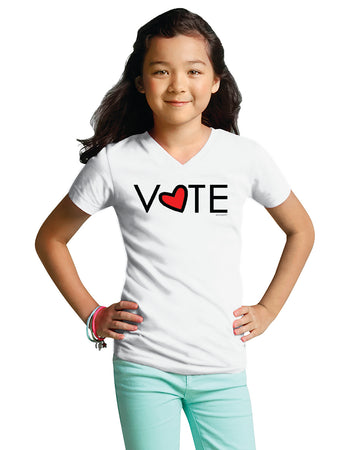 VOTE - Girls V-Neck T-Shirt