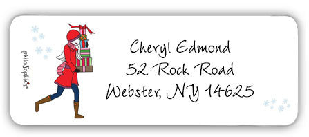Gift Giving - Return Address Labels