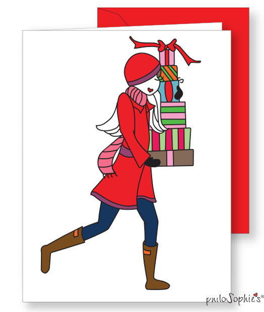 Season's Greetings Greeting Card - philoSophie's®