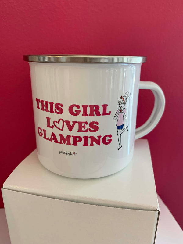 This Girl Loves Glamping - Glamp Cup