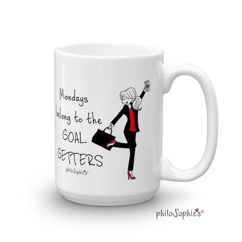 Mondays belong to the GOAL GETTERS - philoSophie's®